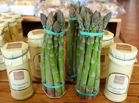 Bury Lane Asparagus Fresh Veg